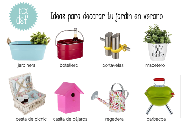 ideas para decorar jardin